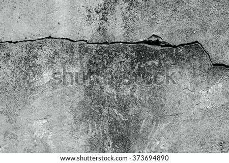 Damaged mortar wall texture, full frame surface of exterior wall as background - stock photo