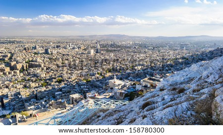 Damascus Syria Stock Images, Royalty-Free Images & Vectors ...