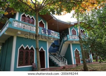 DAMBULLA, SRI LANKA - FEBRUARY 14: The architectual design of ...