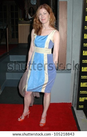 Dana Delany at the Opening Night of 'Rantoul And Die'. Lillian Theater, Hollywood, CA. 05-16-09