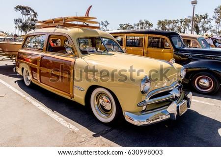 Dana Point Woody Car Show