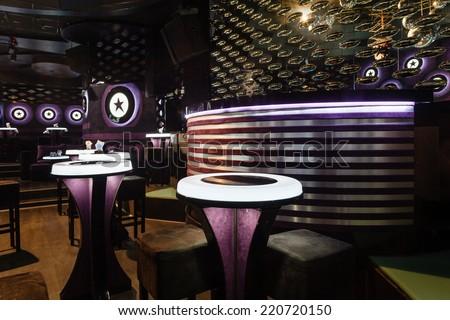 Dance club interior.  - stock photo