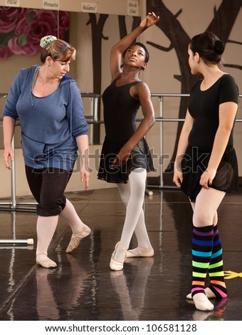 Ballet instructor helps her student with extra credit 7