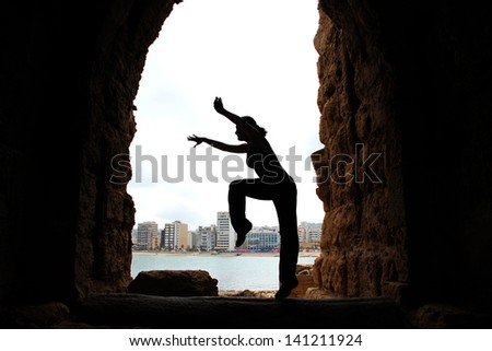Dancing - stock photo