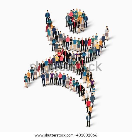 Dancing Man Symbol People Stock Illustration 401002066 Shutterstock