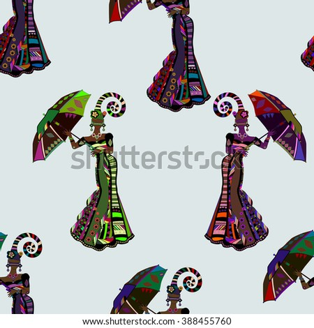 dancing people in ethnic style to fit the needs of your project. - stock photo