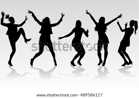 disco dancer silhouette stock images, royalty-free images