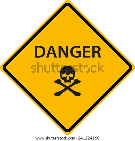 danger sign symbol warning - stock photo