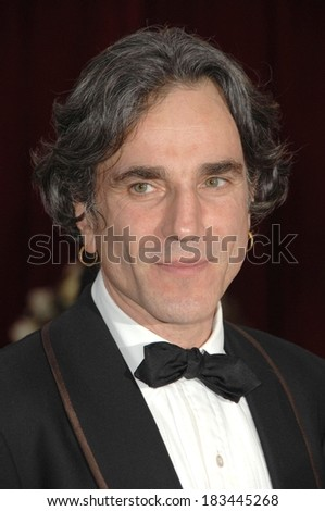 Daniel Day-Lewis at Part 2 - RED CARPET - 80th Annual Academy Awards Oscars Ceremony, The Kodak Theatre, Los Angeles, CA, February 24, 2008