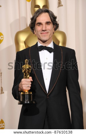 Daniel Day Lewis at the 80th Annual Academy Awards at the Kodak Theatre, Hollywood. February 24, 2008 Los Angeles, CA Picture: Paul Smith / Featureflash - stock photo