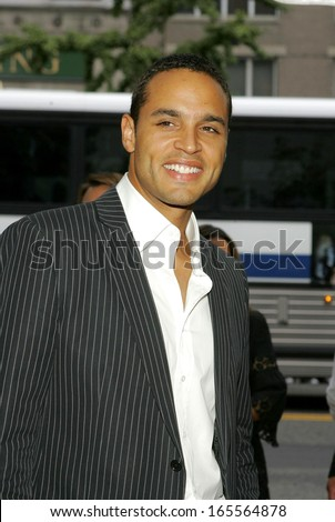 Daniel Sunjata at WORLD PREMIERE of Paramount Pictures FOUR BROTHERS, Clearview's Chelsea West Cinemas, New York, NY, August 09, 2005 - stock photo