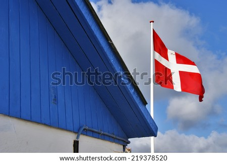 Dannebrog, Denmark - stock photo