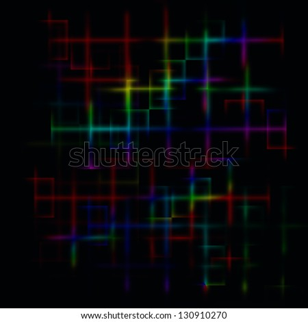 Dark abstract maze background