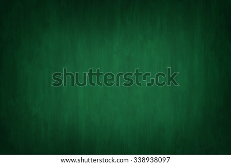 Dark and Moody Green Painted Wood Board Background with vignette with empty room or space for copy, text, your words.   Horizontal with lighting effect in center.