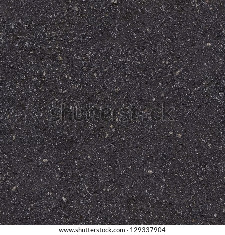 Dark Asphalt Seamless Tileable Texture. - stock photo