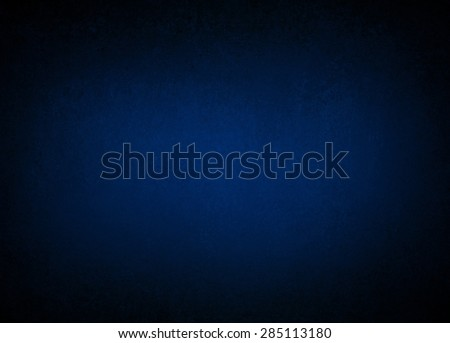 dark blue background with black vignette border, classy elegant background for web design layout or brochure pages or other graphic art design projects - stock photo
