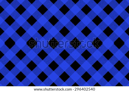 Dark blue criss cross pattern on a black background - stock photo