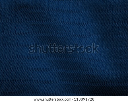 dark blue fabric texture - stock photo
