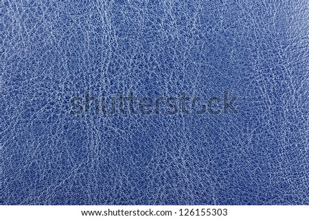 Dark Blue Glossy Artificial Leather Texture