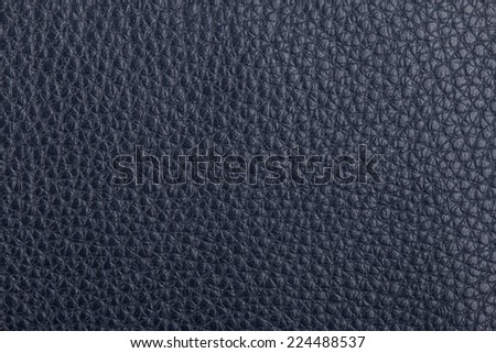Dark blue natural leather texture background