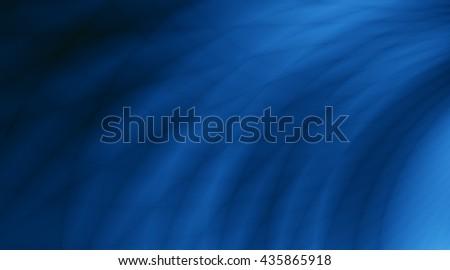 Dark blue pattern ocean wave background - stock photo