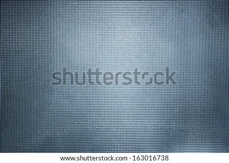 Dark blue stained glass background - stock photo