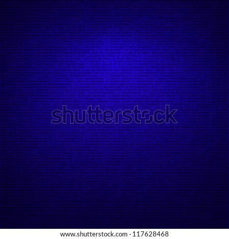 dark blue tech background, numbers texture - stock photo