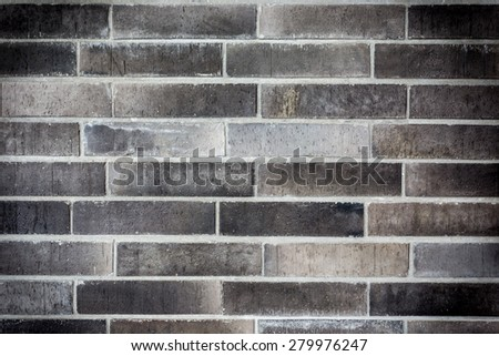 dark bricks wall background