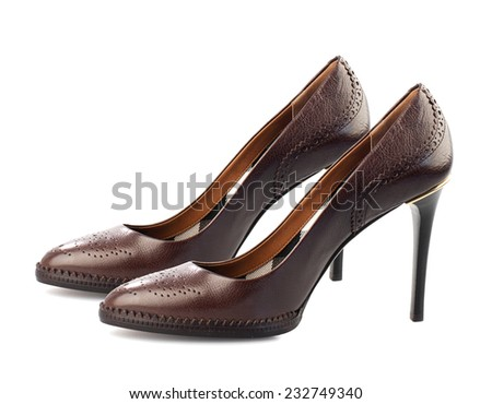 Brown Leather Shoes Stock Images, Royalty-Free Images & Vectors ...