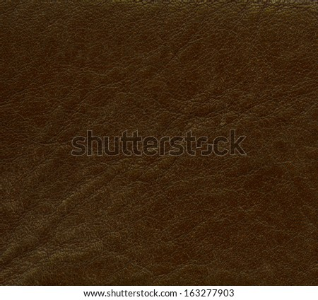dark brown leather texture