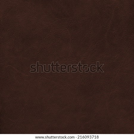 dark brown leather texture. Useful as background - stock photo