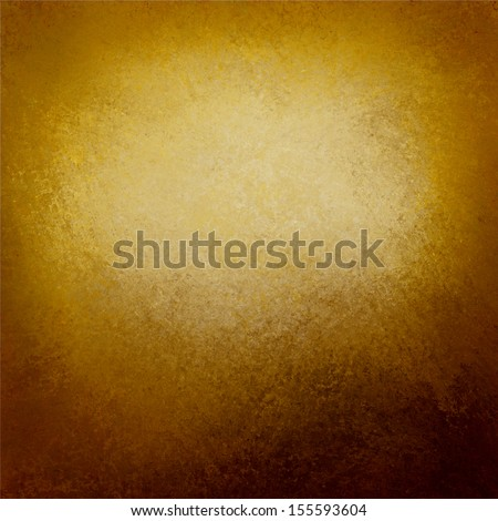 dark brown old paper or abstract brown background, gradient old vintage texture and darker black grunge border frame for brochure or ad, brown parchment paper, earthy brown background gold color - stock photo