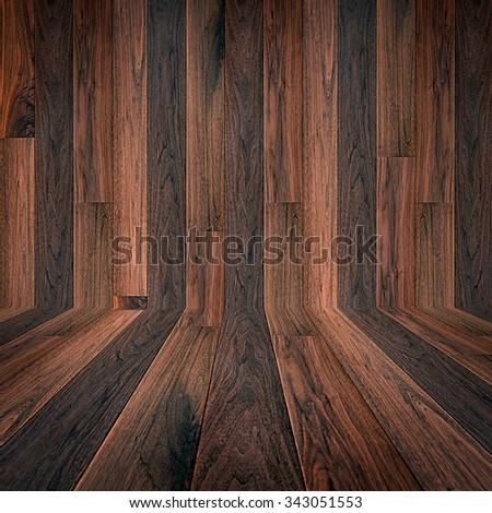 Dark brown parquet wood texture background