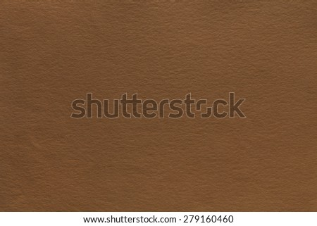 Dark brown watercolor paper texture or background - stock photo