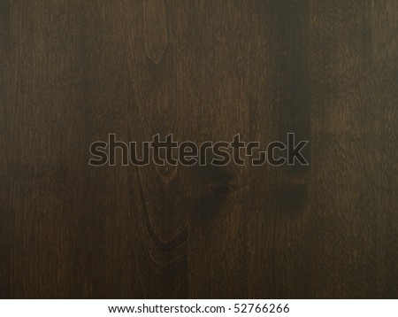 Dark brown wood texture - stock photo