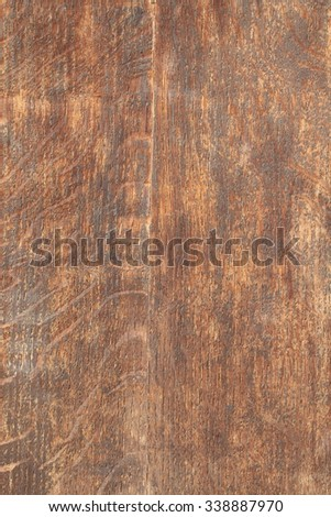 Dark colored grunge wooden texture as background - stock photo