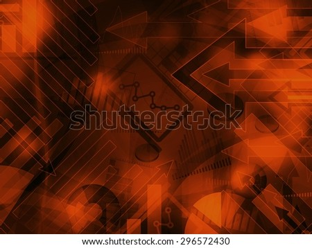 dark data corporate abstract financial background illustration - stock photo