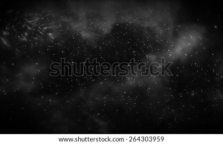 Dark Galaxy Background Stock Illustration 264303959