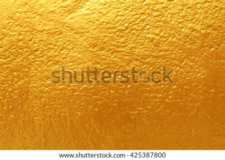 dark golden cement texture background - stock photo