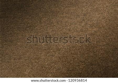 Dark golden paper texture for background usage - stock photo
