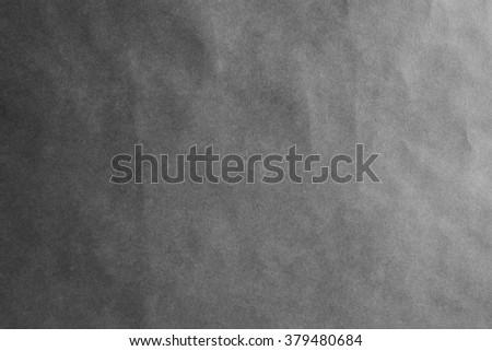 dark gray grey paper background texture paper sheet horizontal - stock photo