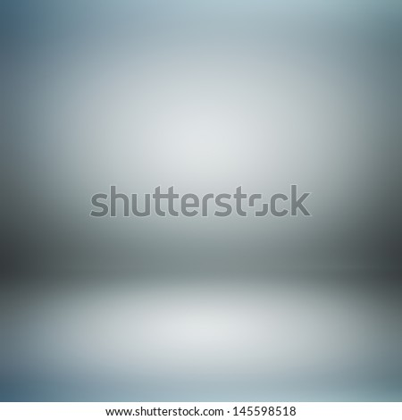 Dark gray room abstract background - stock photo