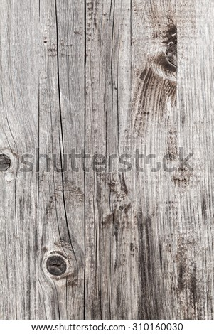 Dark gray wooden wall, close-up background photo texture - stock photo