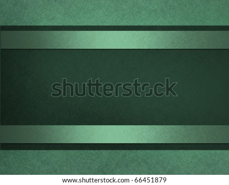 dark green and light mint green background with copy space to add your own text, and elegant stripes - stock photo