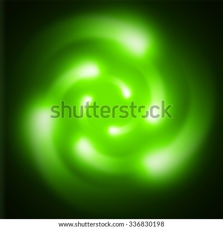 Dark green color Light Abstract Technology background for computer graphic  illustration.Nuclear,proton,neutron,nucleus. atom. molecular.Spark ray beam aura - stock photo