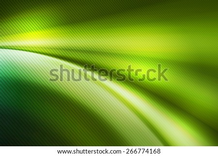 dark green curve   with line pattern abstract background - stock photo