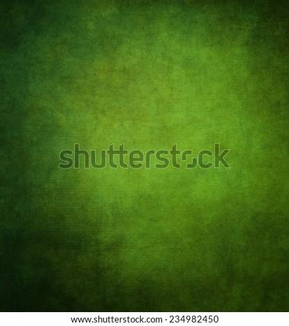 Dark-green paper texture. - stock photo