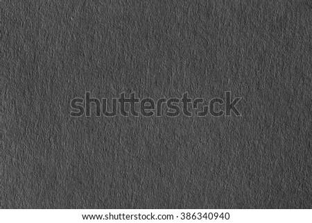 Dark grey paper texture. - stock photo