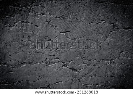 dark grey texture may used as background - stock photo