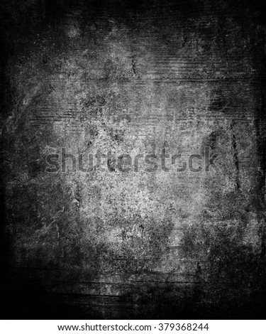 Dark grunge abstract texture background with faded central area for your text or picture